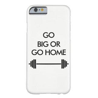 大きく行きますか、または家に白くiphoneの箱は行きます barely there iPhone 6 ケース