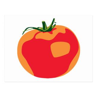 大きく赤いトマト ポストカード