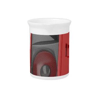 大きく赤い拡声器 ピッチャー