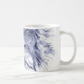 大きく青いサスカッチ コーヒーマグカップ