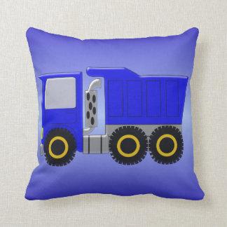 大きく青いトラック クッション