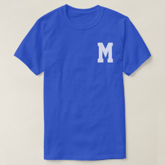 大きさで分類されたSSのモノグラムに Tシャツ