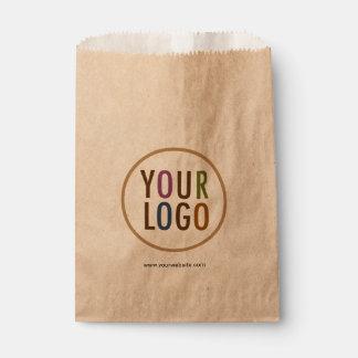 大きさのカスタムなロゴのブランディングのクラフトの好意のバッグ フェイバーバッグ