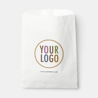 大きさのカスタムなロゴのブランディングの白い好意のバッグ フェイバーバッグ