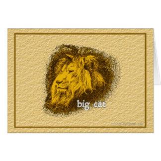 大きな猫… カード