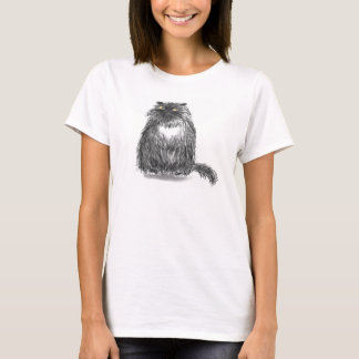 大きな猫T Tシャツ