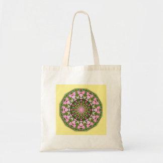 大げさに同情する人の自然、花曼荼羅 トートバッグ