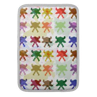 大人のためのBabysoftの蝶パターン MacBook スリーブ