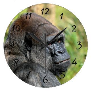 大人のゴリラ ラージ壁時計