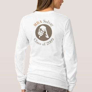 大人のフード付きのスエットシャツ- MBA Solvay Tシャツ