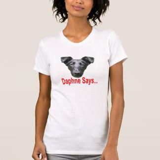 大人のロゴのティー、女性 Tシャツ