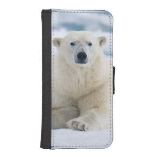 大人の北極は夏のパック氷に関係します iPhoneSE/5/5sウォレットケース