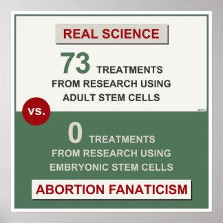 大人の幹細胞の研究 ポスター
