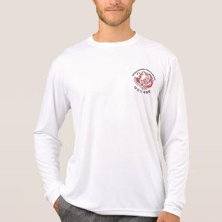 大人の性能のMicrofiberの長袖のTシャツ Tシャツ