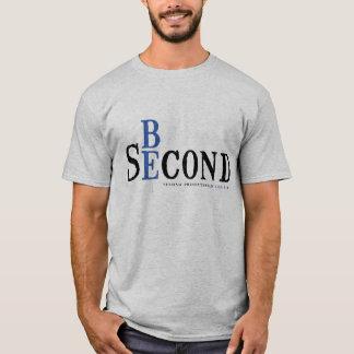 大人の灰色のワイシャツ Tシャツ