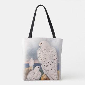 大人の軽いグリーンランドの《鳥》ハヤブサの鳥イギリス トートバッグ