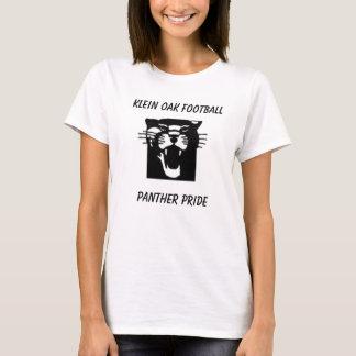 大人KLEINのカシFOOTBALLPANTHERのプライド Tシャツ