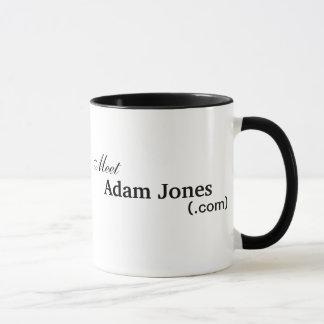 大会のアダムジョーンズのマグ マグカップ