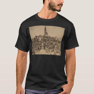大佐ルーズベルトおよび彼の荒いライダー Tシャツ