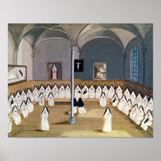 大修道院の姉妹 プリント