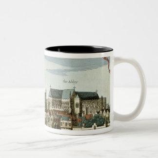 大修道院を示すウエストミンスター ツートーンマグカップ