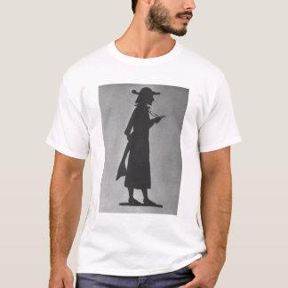 大修道院長(b/wの写真)としてフランツ・リスト(1811-86年) tシャツ