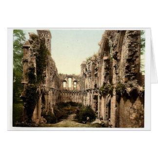 大修道院、セントジョーゼフのチャペルII、Glastonbury カード
