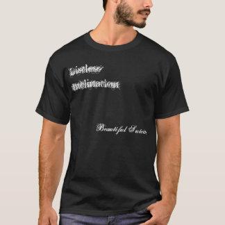 大儀そうな傾斜、美しい自殺 Tシャツ