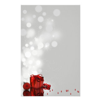 大切なクリスマスプレゼント-文房具レターヘッド 便箋
