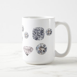 大切なダイヤモンド コーヒーマグカップ
