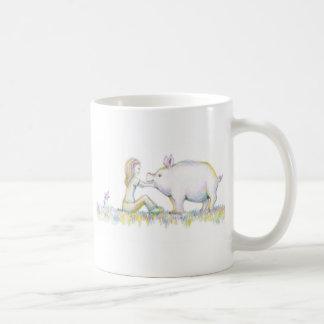 大切なブタ コーヒーマグカップ