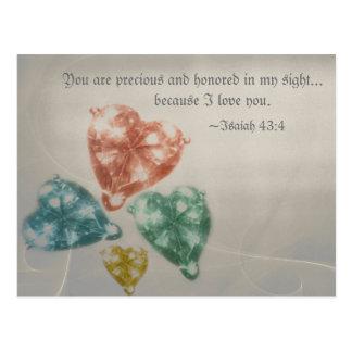 大切な宝石の聖なる書物、経典 ポストカード