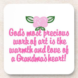 大切な祖母 コースター