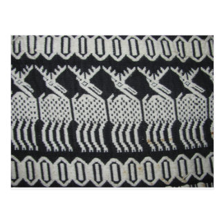 大切な繊維の芸術 ポストカード