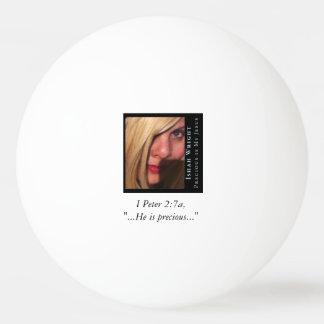 大切なIshahは私のイエス・キリストのピンポン球です 卓球ボール