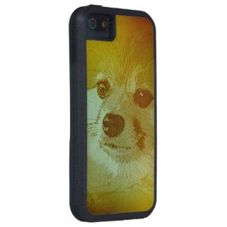 大切なPom PomのiPhoneの場合-白熱か黒 iPhone SE/5/5s ケース