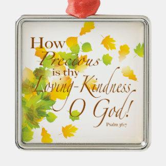 大切Thy愛情のある親切さがいかにであるか メタルオーナメント