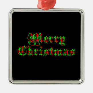 大喜びのメリークリスマス メタルオーナメント