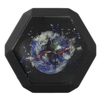 大地の爆発 ブラックBluetoothスピーカー