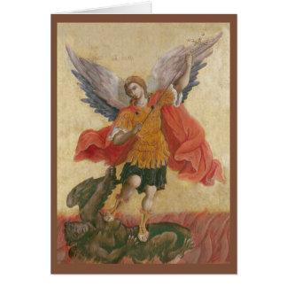 大天使のミハエルアイコン カード