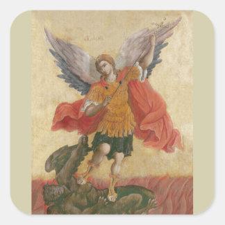 大天使のミハエルアイコン スクエアシール