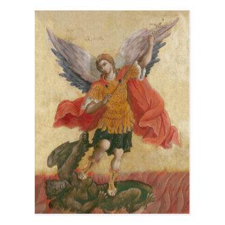 大天使のミハエルアイコン ポストカード