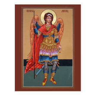 大天使のミハエル祈りの言葉カード ポストカード