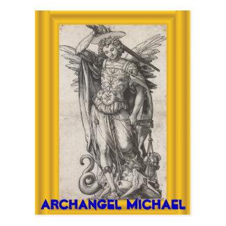 大天使のミハエル郵便はがき ポストカード