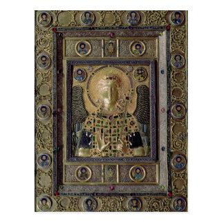 大天使ミハエルを描写するアイコン ポストカード