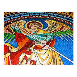 大天使ミハエルMosiacのKaiserウィルヘルム教会 ポストカード