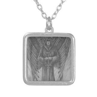 大天使 シルバープレートネックレス