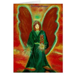 大天使Raphaelの挨拶状 カード