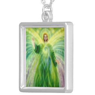 大天使RaphaelのPendentネックレス シルバープレートネックレス
