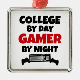 大学ゲーマー メタルオーナメント